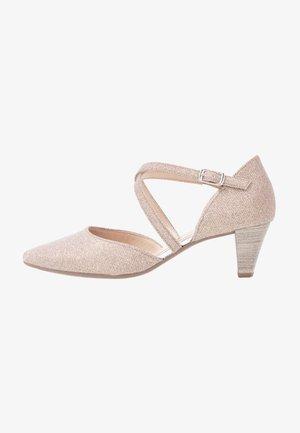 Classic heels - rosato