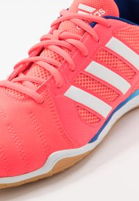 adidas Performance - TOP SALA - Indoor football boots - signal pink/footwear white/team royal blue - 5