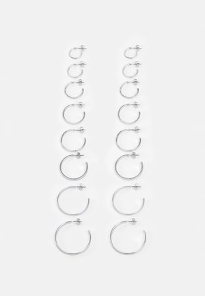 FGHOLLY EARRINGS 8 PACK - Náušnice - silver colour
