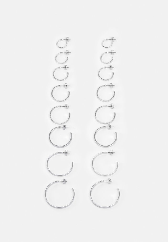 FGHOLLY EARRINGS 8 PACK - Earrings - silver colour