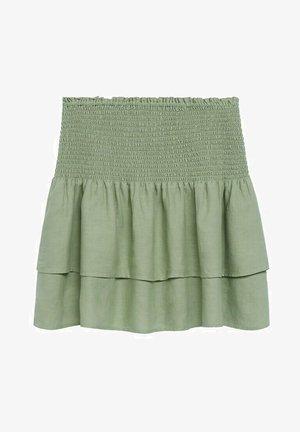 Mini skirt - vert pastel