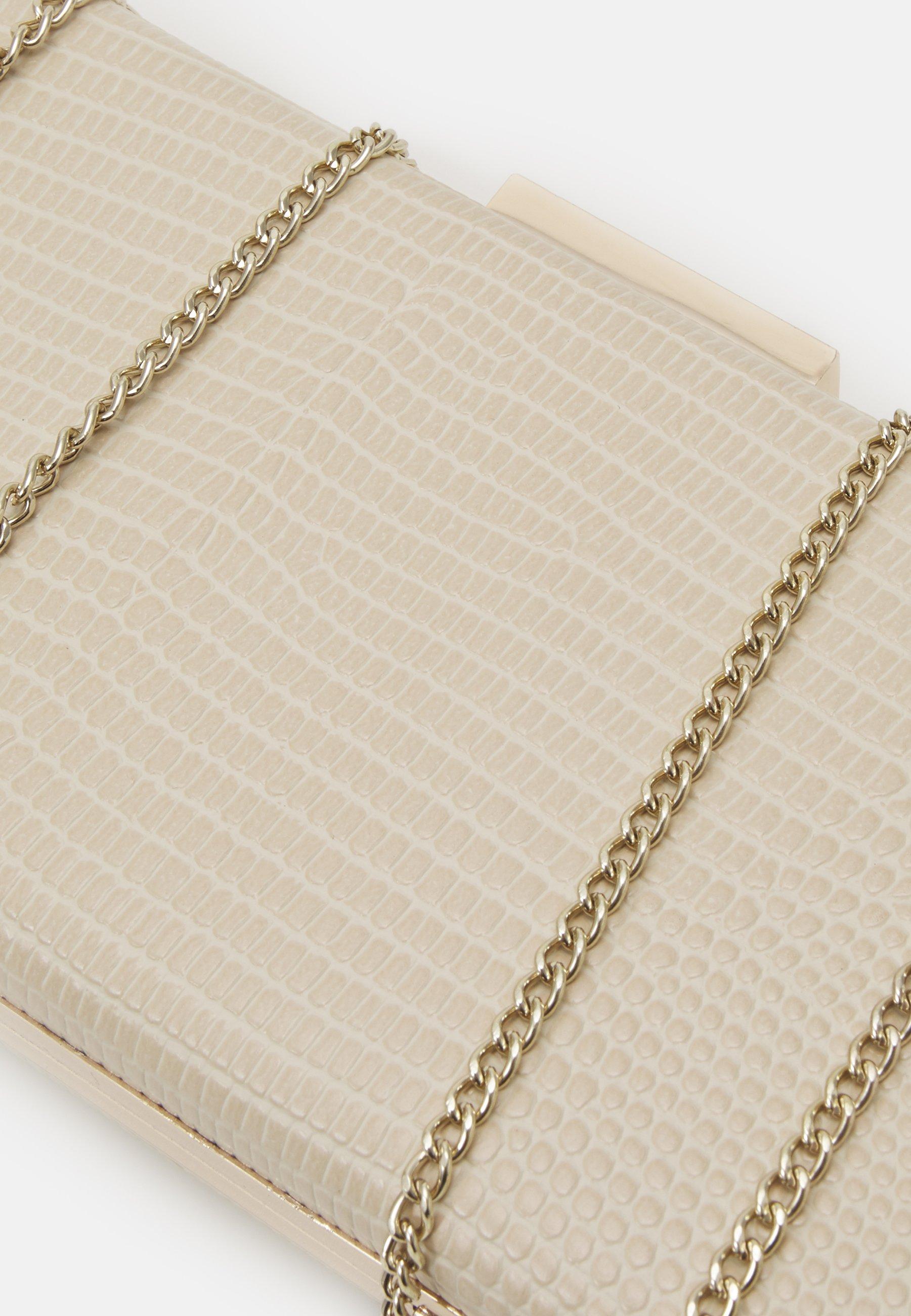 PARFOIS BOX BAG - Clutch - beige uZuK9i0HTeqHTfp