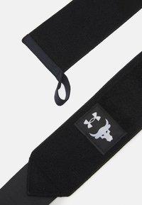 Under Armour - PROJECT ROCK WRIST WRAPS - Bandages - black - 3