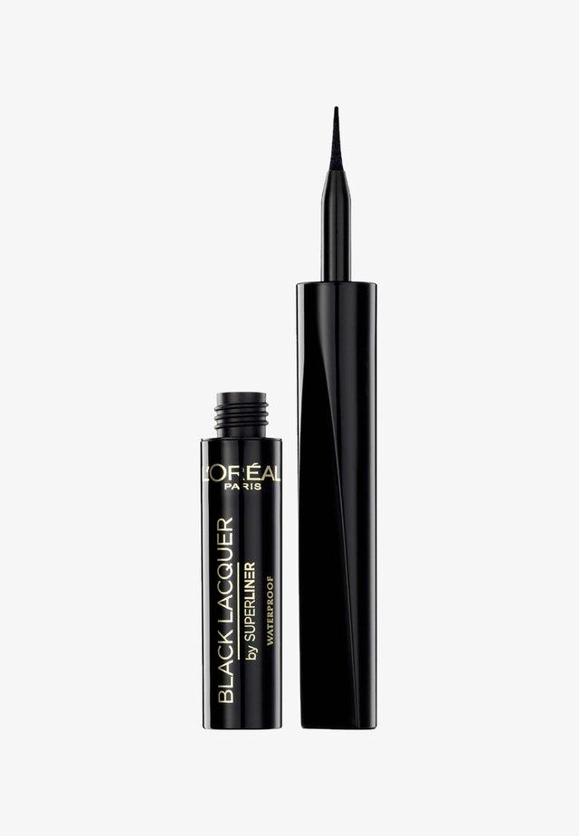 SUPERLINER LACQUER - Eyeliner - black lacquer
