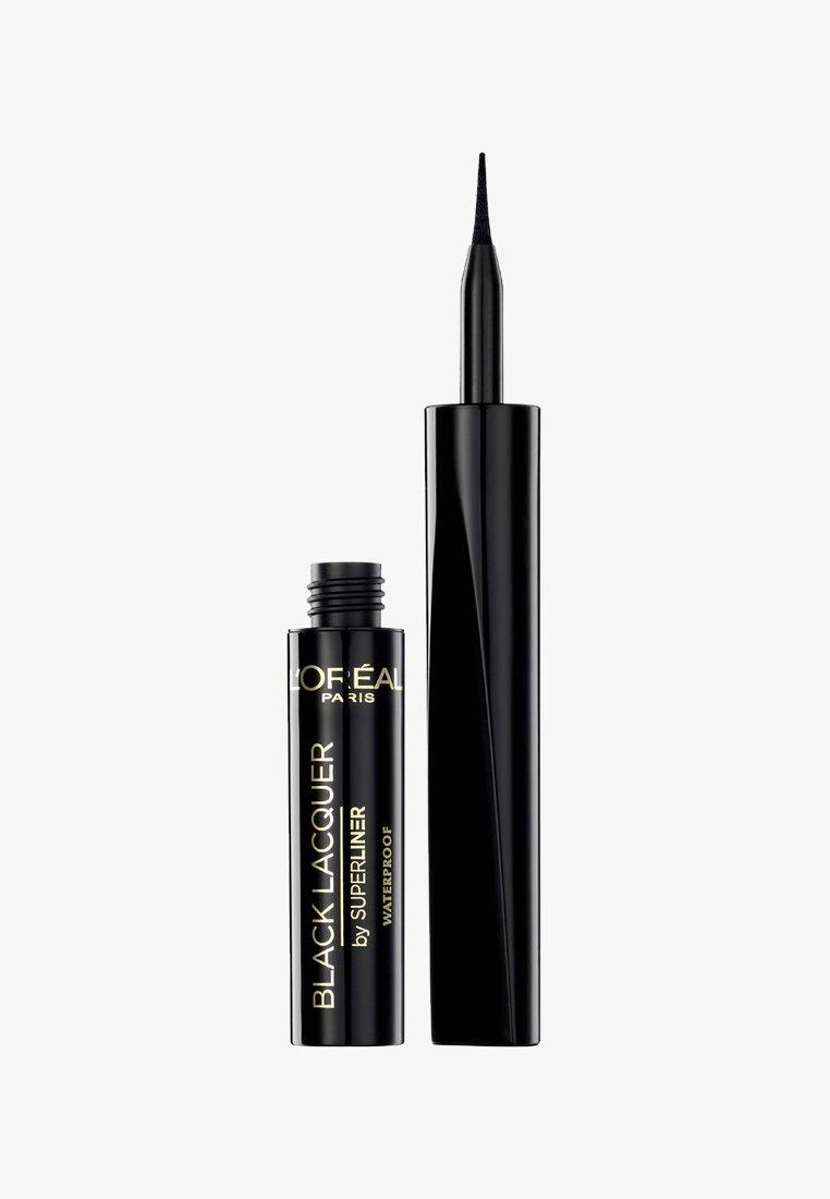 L'Oréal Paris - SUPERLINER LACQUER - Eyeliner - black lacquer