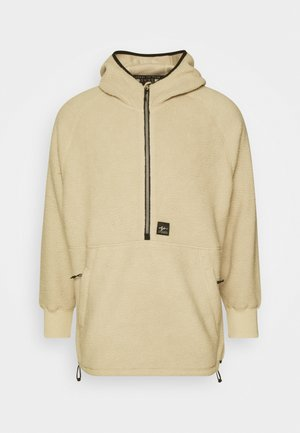 SHELBY SHERPA HOODIE - Fleece jumper - natural