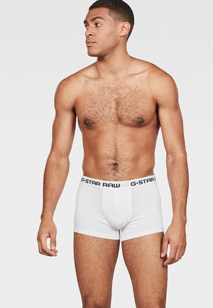 CLASSIC TRUNK 3 PACK - Boxerky - white