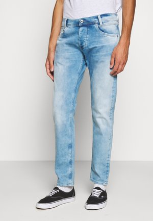 SPIKE - Straight leg jeans - denim
