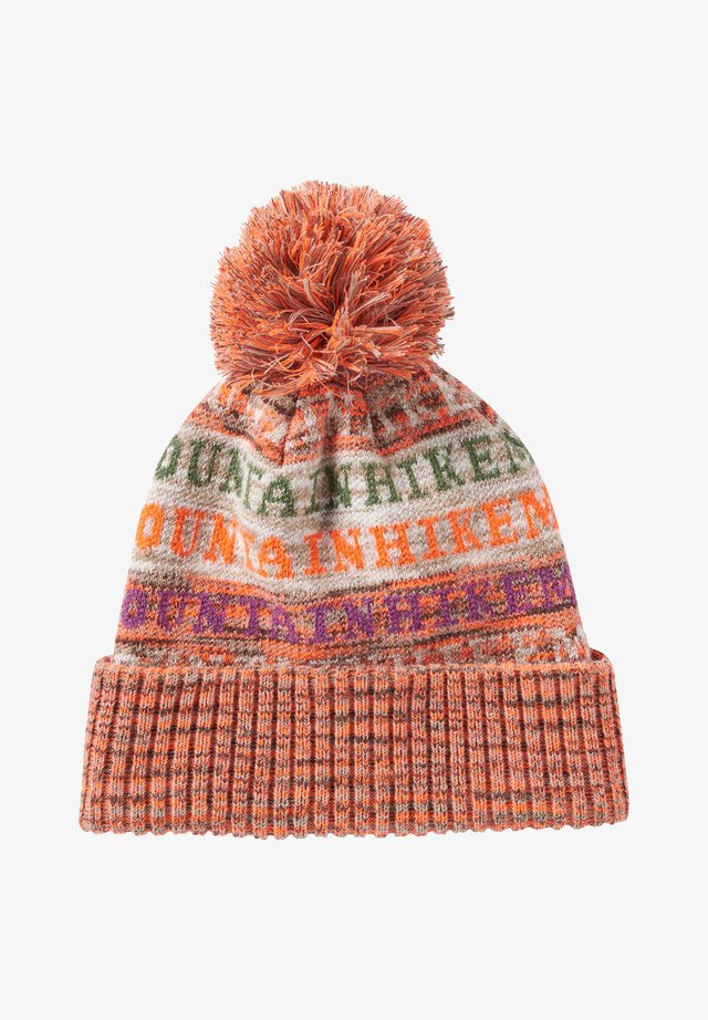 MIT BOMMEL - Beanie - wording allover
