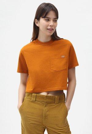 PORTERDALE - Basic T-shirt - pumpkin spice
