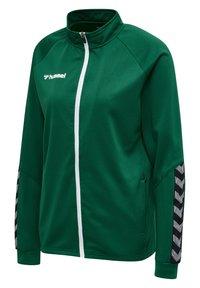 Hummel - HMLAUTHENTIC  - Training jacket - evergreen - 2