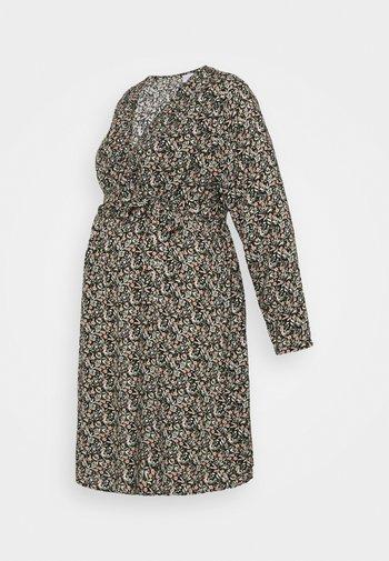 MLPHINA TESS WOVEN DRESS - Denní šaty - black