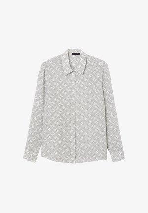 VIVIEN  - Button-down blouse - grey