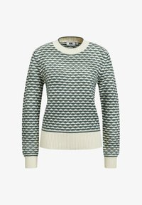 WE Fashion - Strikpullover /Striktrøjer - greyish green - 5