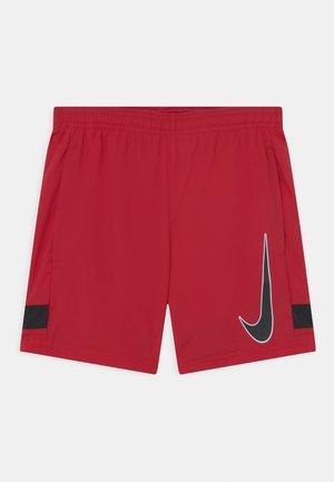 ACADEMY UNISEX - Sportovní kraťasy - gym red/black