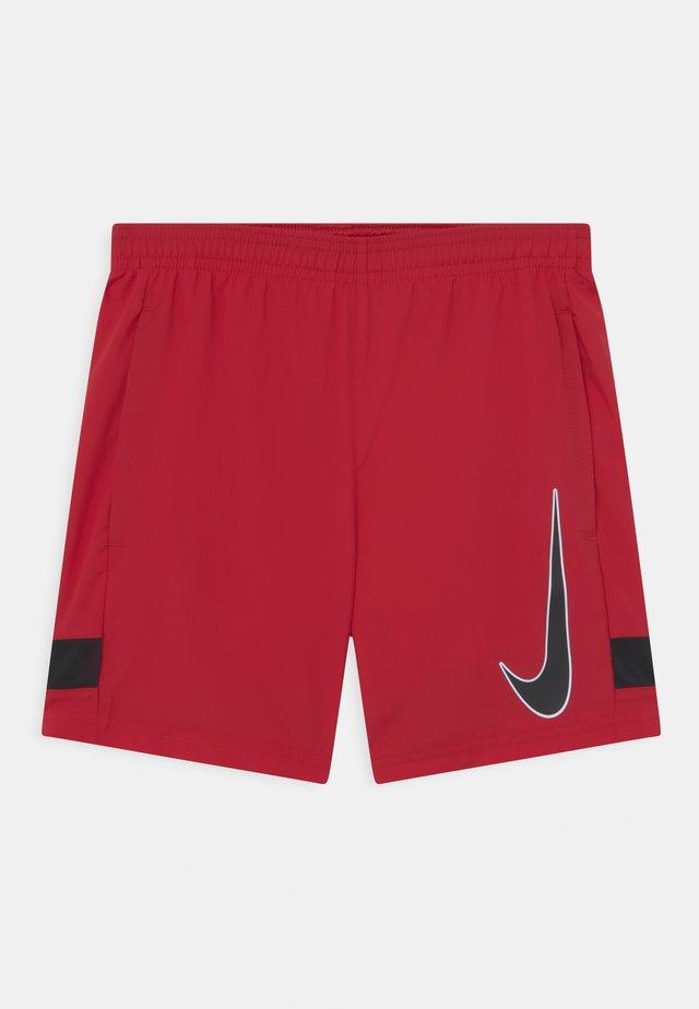 ACADEMY UNISEX - Short de sport - gym red/black