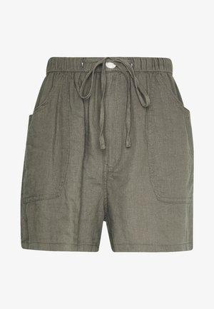 DRAPEY LONGLINE - Shorts - dark olive