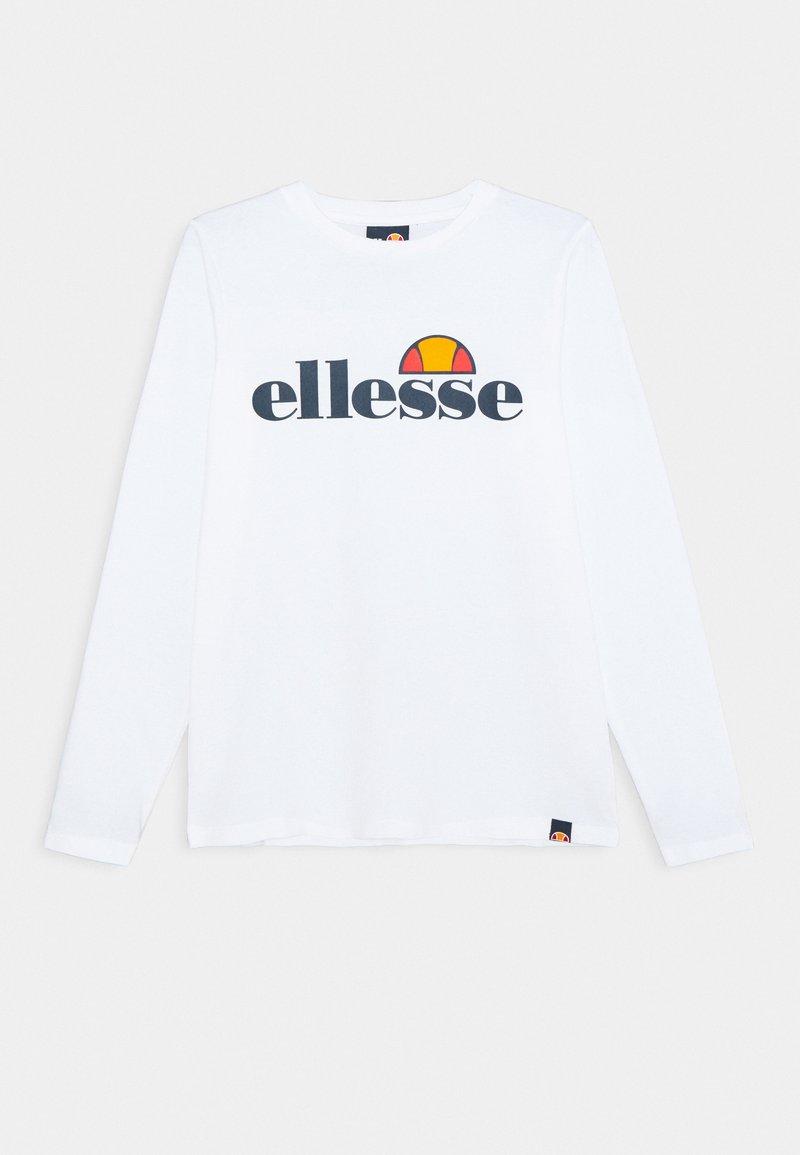 Ellesse - YANDIA UNISEX - Bluzka z długim rękawem - white
