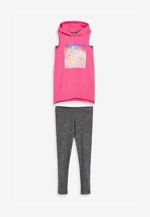 SET  - Leggings - Trousers - pink