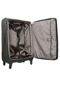 Stratic - 4 ROLLEN TROLLEY - Wheeled suitcase - khaki - 4