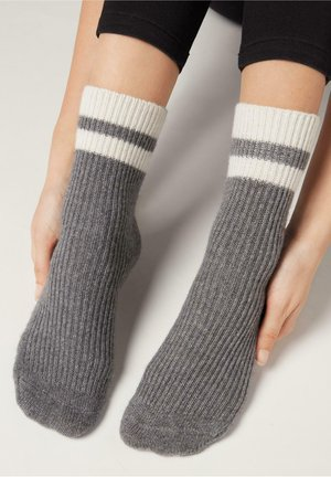 Socks - grigio medio melange