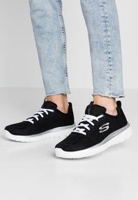 Skechers Sport - GRACEFUL - Trainers - black/white - 0