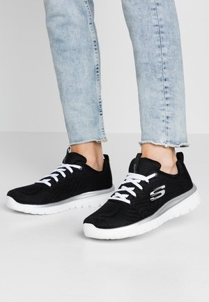 GRACEFUL - Sneakers basse - black/white