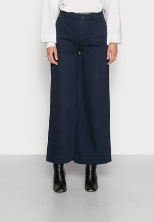 NANGALF PANTS WOMAN - Relaxed fit jeans - ink blue