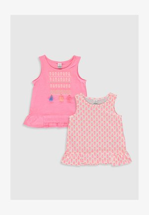 2 PACK - Top - pink