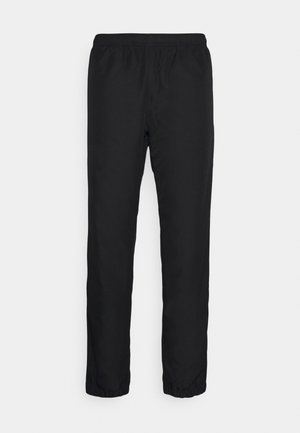 TENNIS PANT TAPERED - Jogginghose - black/white