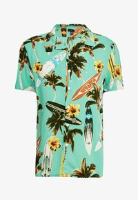 New Look - SURF BOARD TROPICAL - Shirt - turquoise - 3