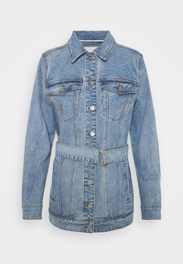 OBJNOELLE JACKET - Giacca di jeans - light blue denim