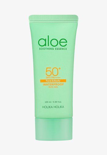 ALOE SOOTHING ESSENCE WATERPROOF SUN GEL SPF50+