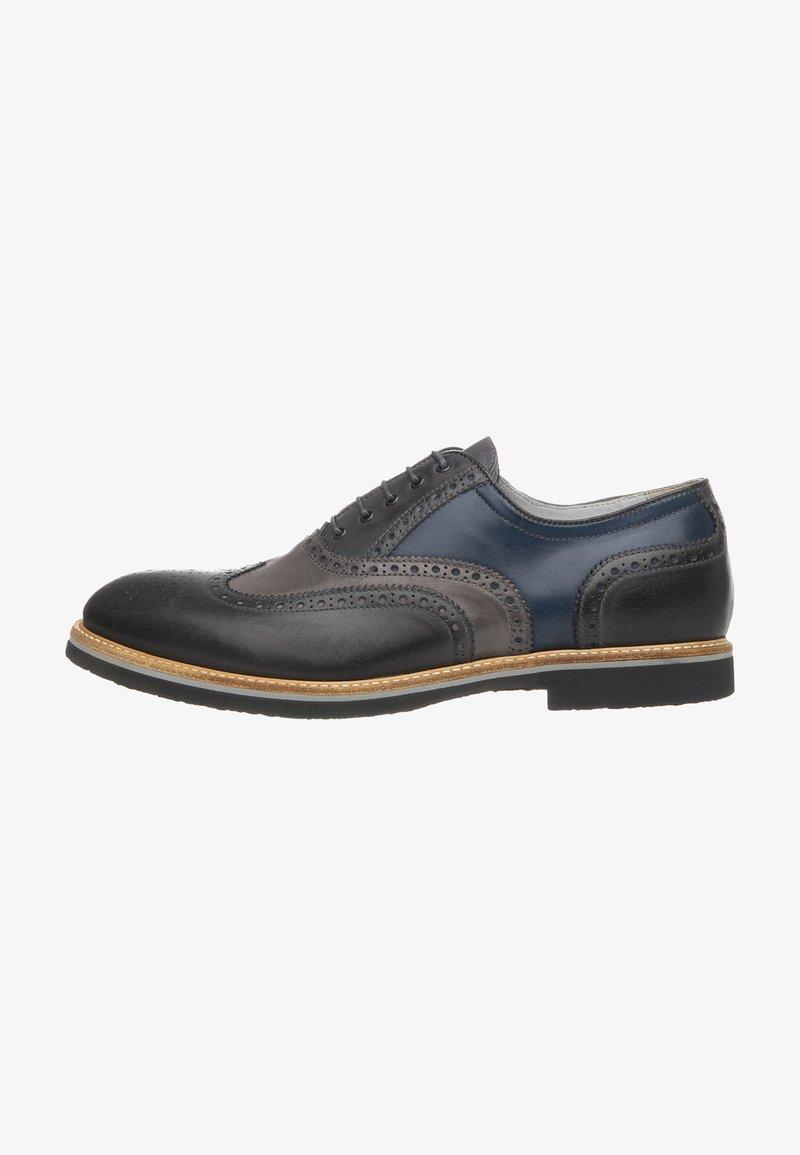 NeroGiardini - Šněrovací boty - antracite