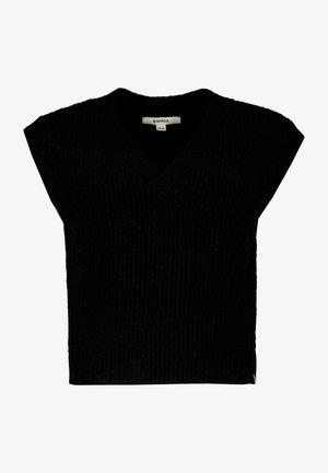 SPENCER - T-shirt basic - off black