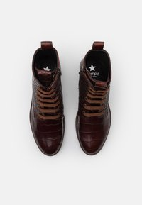 Maripé - Lace-up ankle boots - hot coffee - 5