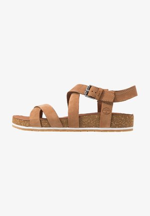 MALIBU WAVES ANKLE - Sandali - saddle