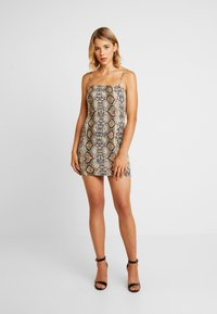 Honey Punch - TANK DRESS - Vestito di maglina - snake - 1