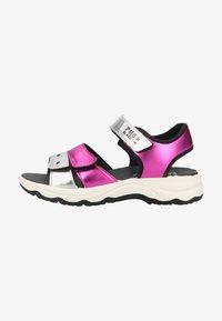 Primigi - Walking sandals - magenta argento - 0