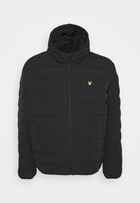 Lyle & Scott - PLUS LIGHTWEIGHT JACKET - Winter jacket - jet black - 0