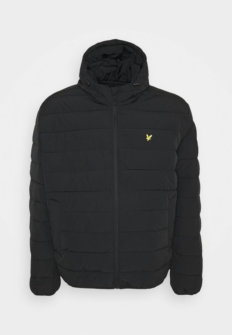 Lyle & Scott - PLUS LIGHTWEIGHT JACKET - Vinterjacka - jet black