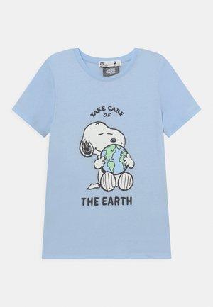 LICENSE SHORT SLEEVE TEE - T-shirt print - blue