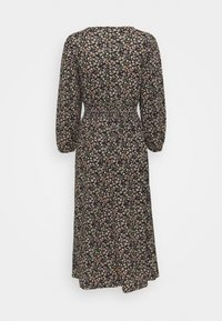 ONLY Petite - ONLZILLE SMOCK MIDI DRESS - Day dress - black - 1