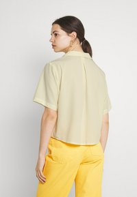 Monki - TANI BLOUSE - Blouse - yellow dusty light - 2