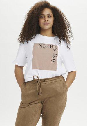KCLEA - Print T-shirt - optical white