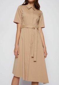 BOSS - DARANDA - Shirt dress - beige - 3