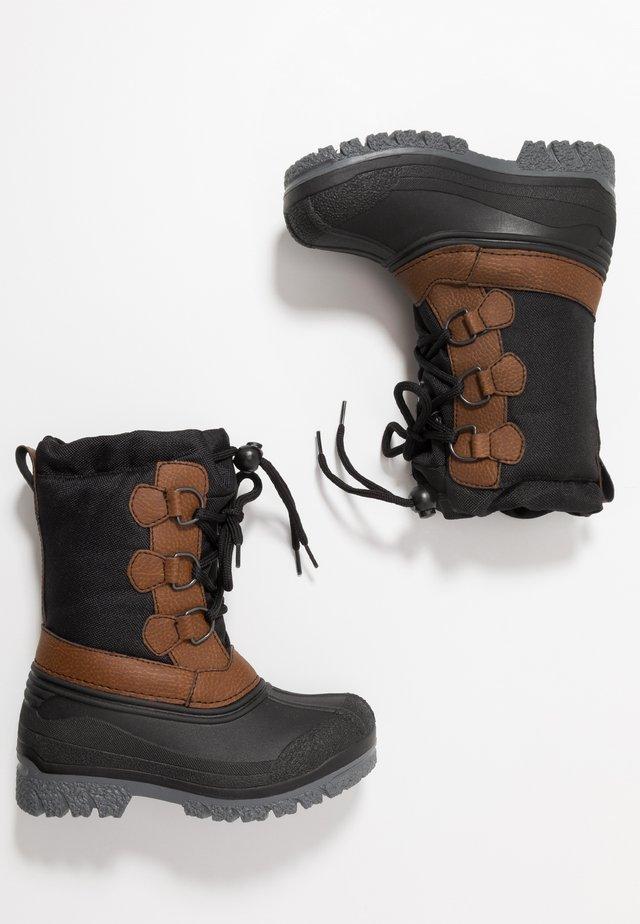 Talvisaappaat - black/brown