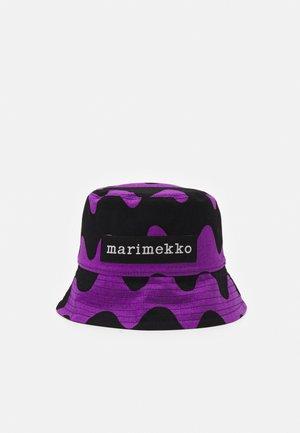 COCREATED HILLERI HAT - Chapeau - brown/black/purple