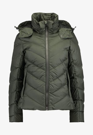 WHISTLER SLIM - Down jacket - asfalt