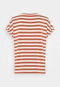 Marc O'Polo DENIM - T-shirt print - multi/cinnamon brown - 1